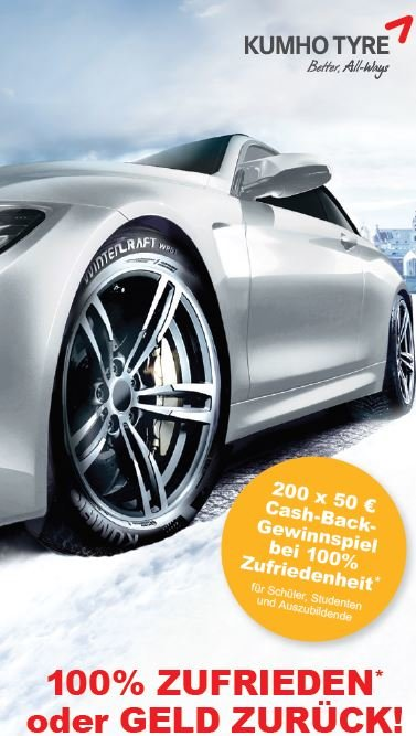 Kumho Winterpromotion